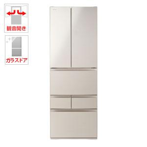 (標準設置料込)GR-P510FD-EC 東芝 509L 6ドア冷蔵庫(サテンゴールド) TOSHIBA VEGETA(べジータ)