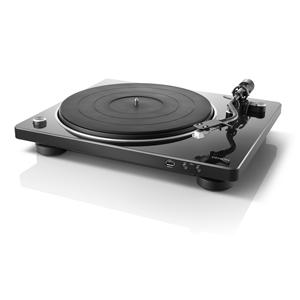 DP-450USB デノン マニュアル式レコードプレーヤー【USBメモリーへのダイレクト録音対応】(MMカートリッジ付き/ブラック) DENON