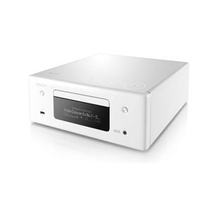 "RCD-N10-W デノン ネットワークCDレシーバー(ホワイト)【HEOS対応】 DENON ""Nシリーズ"""