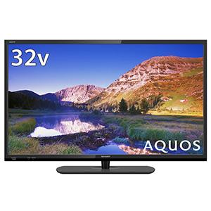 2T-C32AE1 シャープ 32V型地上・BS・110度CSデジタル ハイビジョンLED液晶テレビ (ブラック) (別売USB HDD録画対応) LED AQUOS