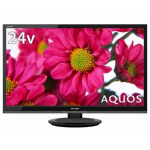 2T-C24AD-B シャープ 24V型地上・BS・110度CSデジタルハイビジョンLED液晶テレビ(ブラック) (別売USB HDD録画対応) LED AQUOS