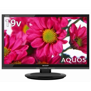 2T-C19AD-B シャープ 19V型地上・BS・110度CSデジタルハイビジョンLED液晶テレビ(ブラック) (別売USB HDD録画対応) LED AQUOS