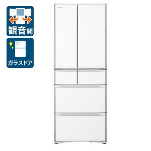 (標準設置料込)R-XG51J-XW 505L 日立 505L 日立 HITACHI 6ドア冷蔵庫(クリスタルホワイト) HITACHI, 徳之島町:c32dd859 --- officewill.xsrv.jp