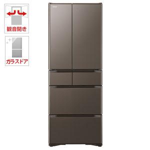 (標準設置料込)R-XG48J-XH 日立 475L 6ドア冷蔵庫(グレイッシュブラウン) HITACHI
