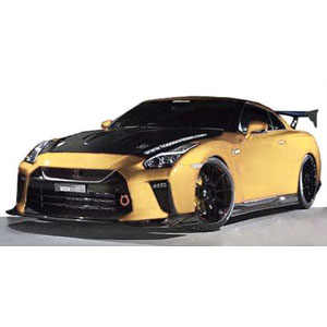 1/18 TOP SECRET GT-R (R35) Gold【IG1534】 ignitionモデル