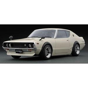 1/43 Nissan Skyline 2000 GT-R (KPGC110) White【IG1653】 ignitionモデル