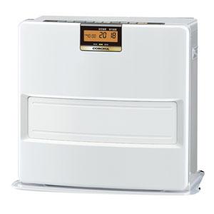 FH-VX5718BY-W コロナ 石油ファンヒーター(木造15畳/コンクリート20畳まで) 【暖房器具】CORONA パールホワイト