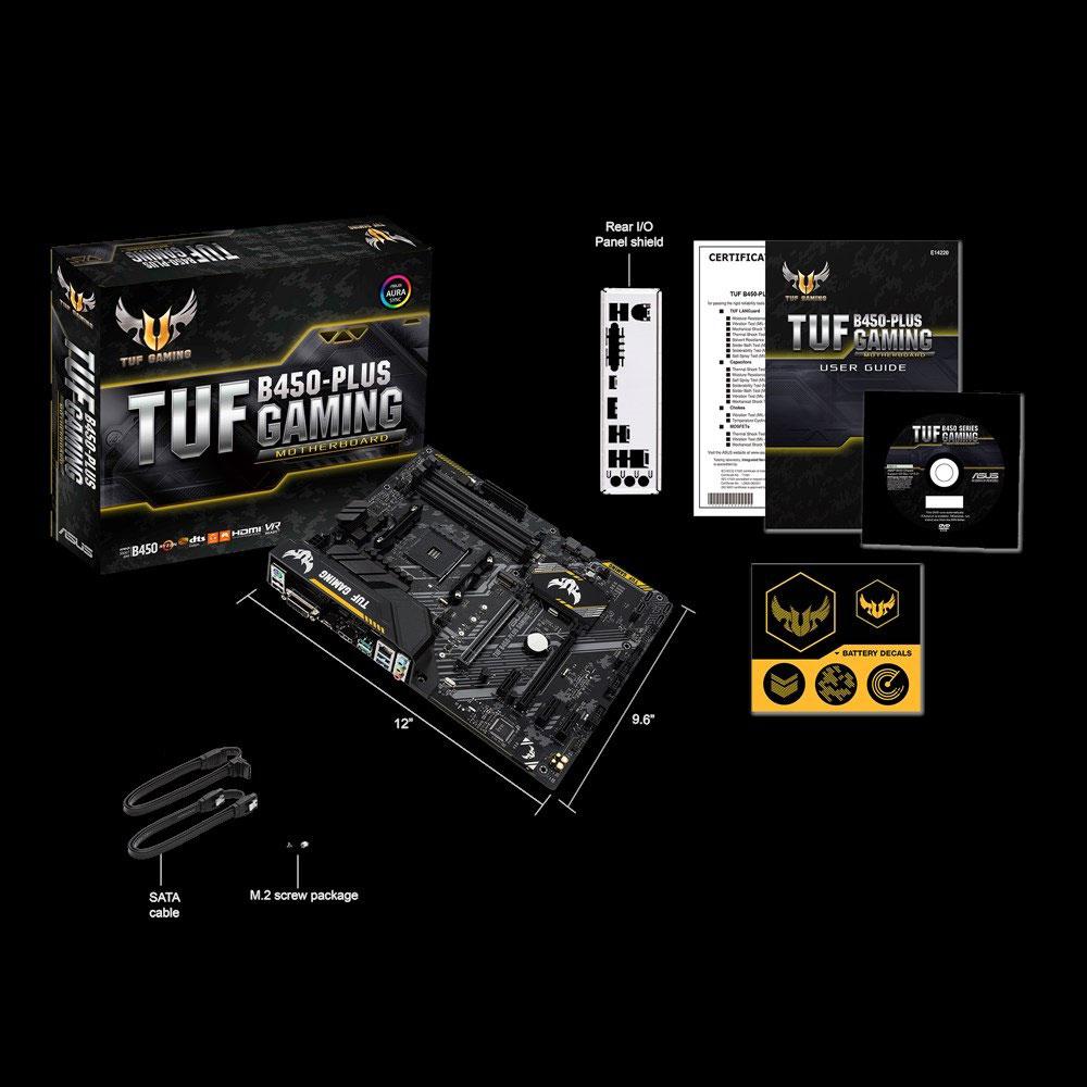 TUFB450-PLUSGAMING エイスース ATX対応マザーボード ASUS TUF B450-PLUS GAMING [AMD Ryzen AM4ソケット対応]