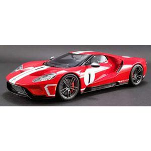 フォード GT ヘリテイジ エディション No.1(レッド/ホワイトストライプ)US Exclusive【GTS008US-A】 GTスピリット