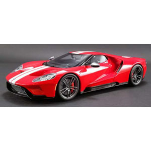 フォード GT ヘリテイジ エディション(レッド/ホワイトストライプ)US Exclusive【GTS008US-B】 GTスピリット