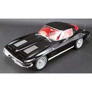 1/12 シボレー コルベット 1963(ブラック)US Exclusive【GTS010US】 GTスピリット