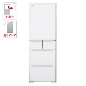 (標準設置料込)R-S50J-XW 日立 501L 5ドア冷蔵庫(クリスタルホワイト)【右開き】 HITACHI