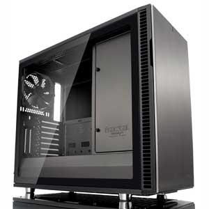 FD-CA-DEF-R6-GY-TG Fractal Design E-ATX、ATX、microATX、Mini-ITX 対応PCケース(ガンメタル) Define R6 TGシリーズ