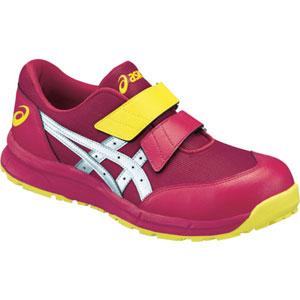 FCP20E.2393-23.0 アシックス ウィンジョブ CP20E クラシックレッド×シルバー 23.0cm 安全靴