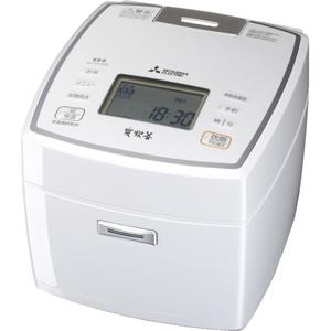 NJ-VV189-W 三菱 IHジャー炊飯器(1升炊き) ピュアホワイト MITSUBISHI 備長炭 炭炊釜