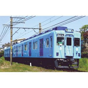 [鉄道模型]マイクロエース (Nゲージ) A6377 南海7100系 めでたいでんしゃ(ブルー)(2両セット)