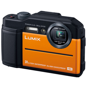 DC-FT7-D パナソニック デジタルカメラ「LUMIX DC-FT7」(オレンジ) Panasonic