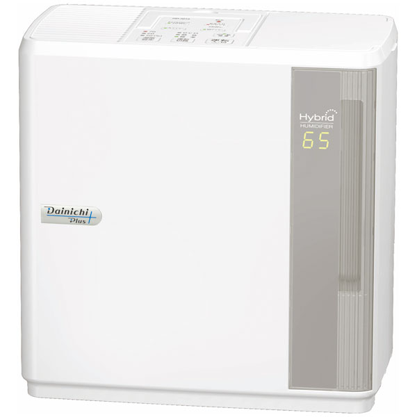 HD-3018-W ダイニチ ハイブリッド式(温風気化+気化)加湿器(木造5畳まで/プレハブ洋室8畳まで ホワイト) Dainichi