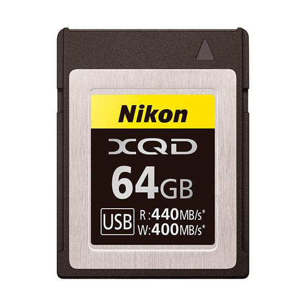 MCXQD64G ニコン XQDメモリーカード 64GB Nikon MC-XQ64G