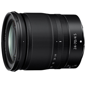 Z24-70S ニコン NIKKOR Z 24-70mm f/4 S ※Zマウント用レンズ(フルサイズミラーレス用)