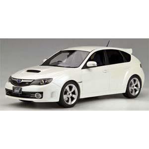 1/18 スバル インプレッサ WRX STI(ホワイト) 香港エクスクルーシブモデル【OTM004RT】 OttOmobile