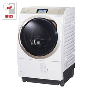 (標準設置料込)NA-VX9900L-W パナソニック 11.0kg ドラム式洗濯乾燥機【左開き】クリスタルホワイト Panasonic 温水泡洗浄W