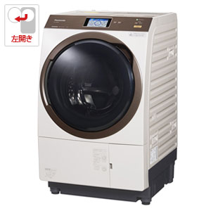 (標準設置料込)NA-VX9900L-N パナソニック 11.0kg ドラム式洗濯乾燥機【左開き】ノーブルシャンパン Panasonic 温水泡洗浄W
