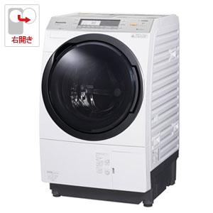 (標準設置料込)NA-VX7900R-W パナソニック 10.0kg ドラム式洗濯乾燥機【右開き】クリスタルホワイト Panasonic 泡洗浄W