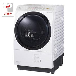 (標準設置料込)NA-VX3900L-W パナソニック 10.0kg ドラム式洗濯乾燥機【左開き】クリスタルホワイト Panasonic 泡洗浄