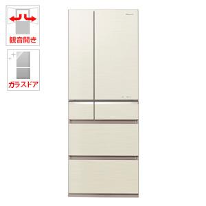 (標準設置料込)NR-F504GV-N パナソニック 501L 6ドア冷蔵庫(シャンパンゴールド) Panasonic【送料無料】