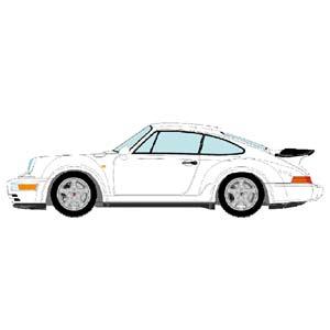 1/43 Porsche 911(964) Turbo 3.3 1991 ホワイト【VM123D】 メイクアップ