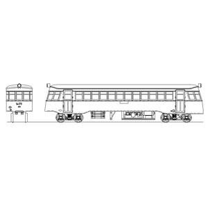 [鉄道模型]マスターピース (HO) 大分交通 キハ105形(耶馬溪線)