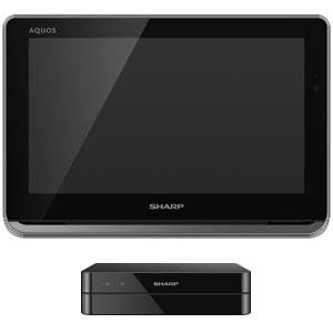 2T-C12AP-B シャープ 12V型ポータブル地上・BS・110度CSデジタルハイビジョン液晶テレビ(ブラック) (500GB HDD内蔵録画対応)AQUOSポータブル