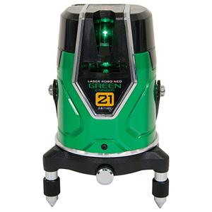 71602 シンワ測定 レーザーロボ グリーン Neo E Sensor 21 縦・横・地墨