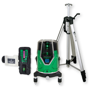 71613 シンワ測定 レーザーロボ グリーン Neo E Sensor 31 受光器・三脚セット