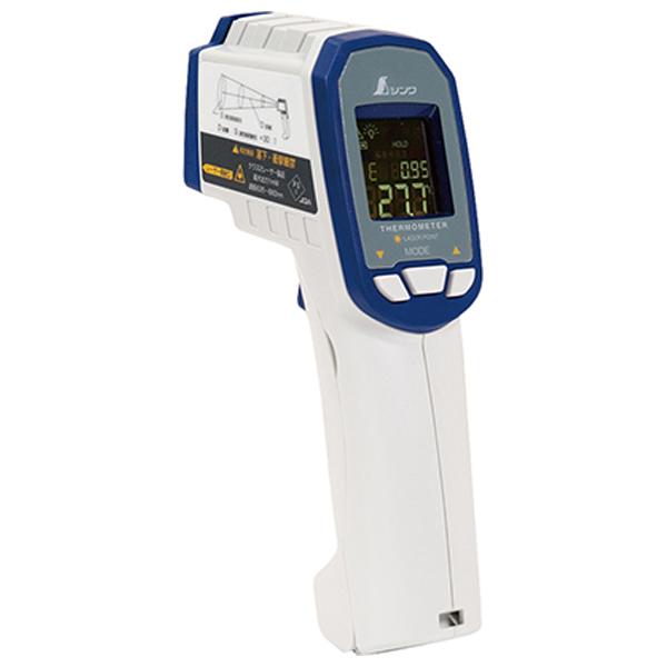 73063 シンワ測定 放射温度計 G 耐衝撃デュアルレーザーポイント機能付 放射率可変タイプ(体温測定不可) [73063シンワ]