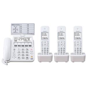 TF-SE16T(W) パイオニア デジタルコードレス留守番電話機(子機3台) ホワイト Pioneer