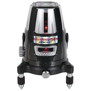 77362 シンワ測定 レーザーロボ Neo 51 BRIGHT 縦・横・大矩・通り芯×2・地墨