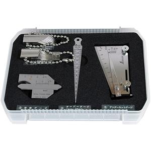 97575 シンワ測定 鉄骨精度測定器具 5点セット