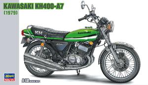 再生産 1 12 カワサキ プラモデル BK6 KH400-A7 日本産 ハセガワ 予約