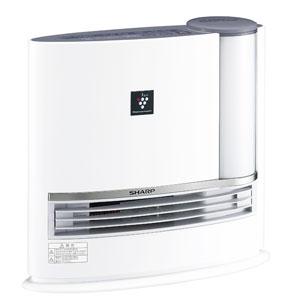 HX-H120-H シャープ 加湿機能付きセラミックファンヒーター(グレー系/シャドーグレー) 【暖房器具】SHARP プラズマクラスター