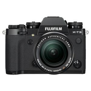 FX-T3LK-B 富士フイルム ミラーレス一眼カメラ「FUJIFILM X-T3」XF18-55mmF2.8-4 R LM OISレンズキット(ブラック)