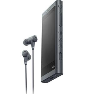 NW-A55HN/B ソニー ウォークマン A50シリーズ 16GB ヘッドホン同梱モデル(グレイッシュブラック) SONY Walkman
