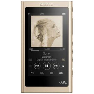 NW-A55/N ソニー ウォークマン A50シリーズ 16GB ヘッドホン非同梱モデル(ペールゴールド) SONY Walkman