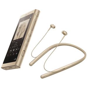 NW-A55WI/N ソニー ウォークマン A50シリーズ 16GB + ワイヤレスヘッドホン「WI-H700」同梱モデル(ペールゴールド) SONY Walkman