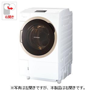 (標準設置料込)TW-127X7R-W 東芝 12.0kg ドラム式洗濯乾燥機【右開き】グランホワイト TOSHIBA