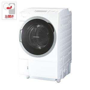 (標準設置料込)TW-127V7L-W 東芝 12.0kg ドラム式洗濯乾燥機【左開き】グランホワイト TOSHIBA