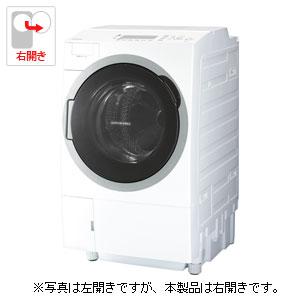 (標準設置料込)TW-127V7R-W 東芝 12.0kg ドラム式洗濯乾燥機【右開き】グランホワイト TOSHIBA