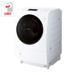 (標準設置料込)TW-95G7L-W 東芝 9.0kg ドラム式洗濯乾燥機【左開き】グランホワイト TOSHIBA