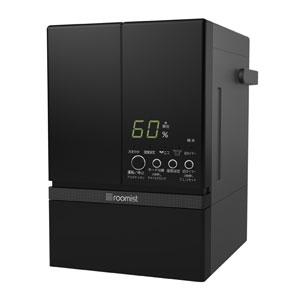 SHE60RD-K 三菱重工 スチーム式加湿器(木造10畳まで/プレハブ洋室17畳まで ブラック) roomist(ルーミスト)